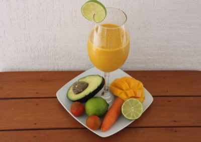 Skin protective smoothie