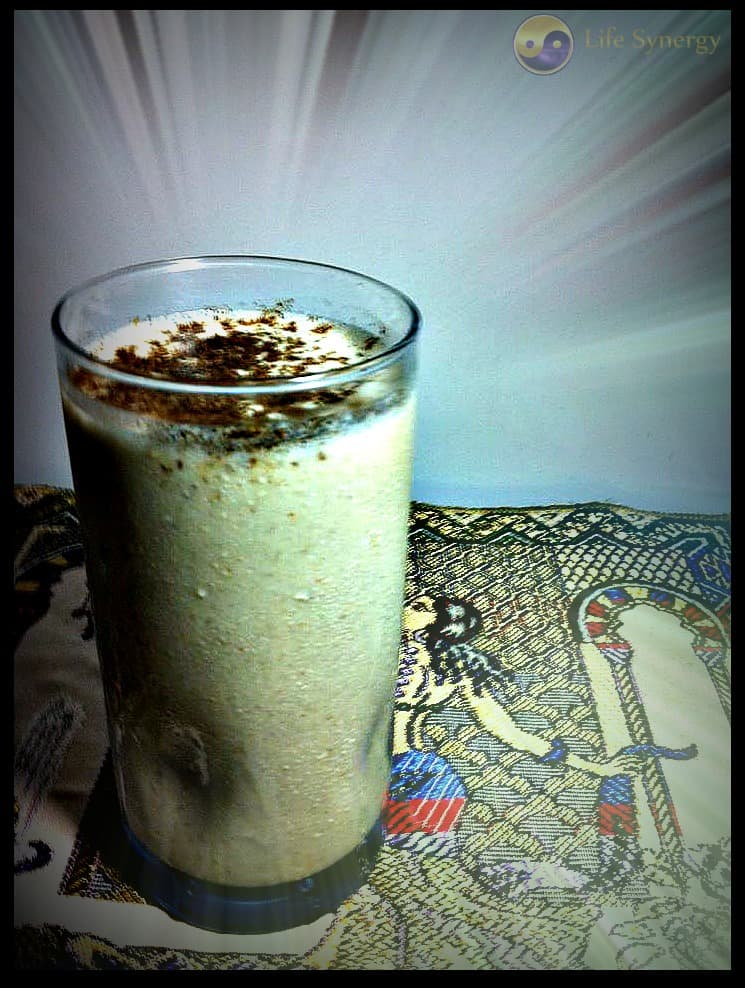 Tryptophan banana smoothie